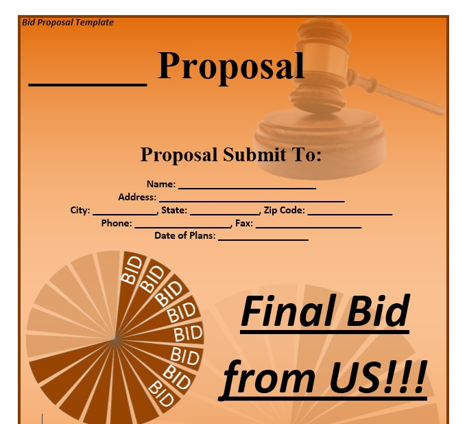 Business Proposal Template 01