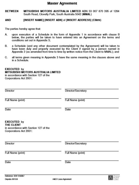 Car or Auto Leasing Agreement Template 09