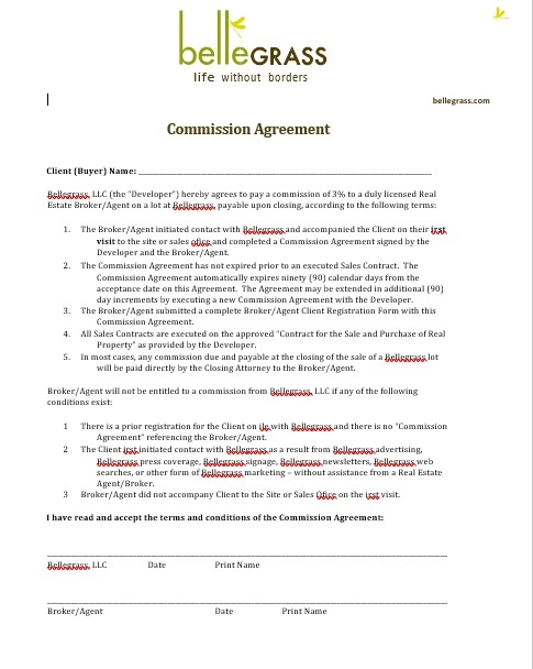 Commission Agreement Template 12