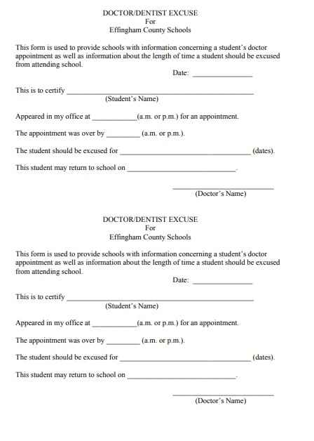 Doctor Notes Templates