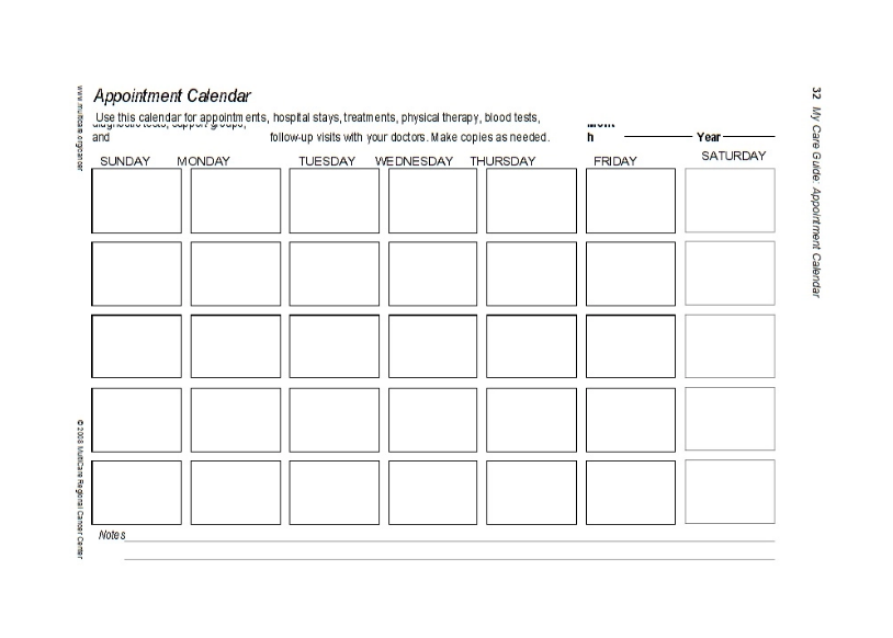 41 Free Appointment Schedule Templates Templates Bash