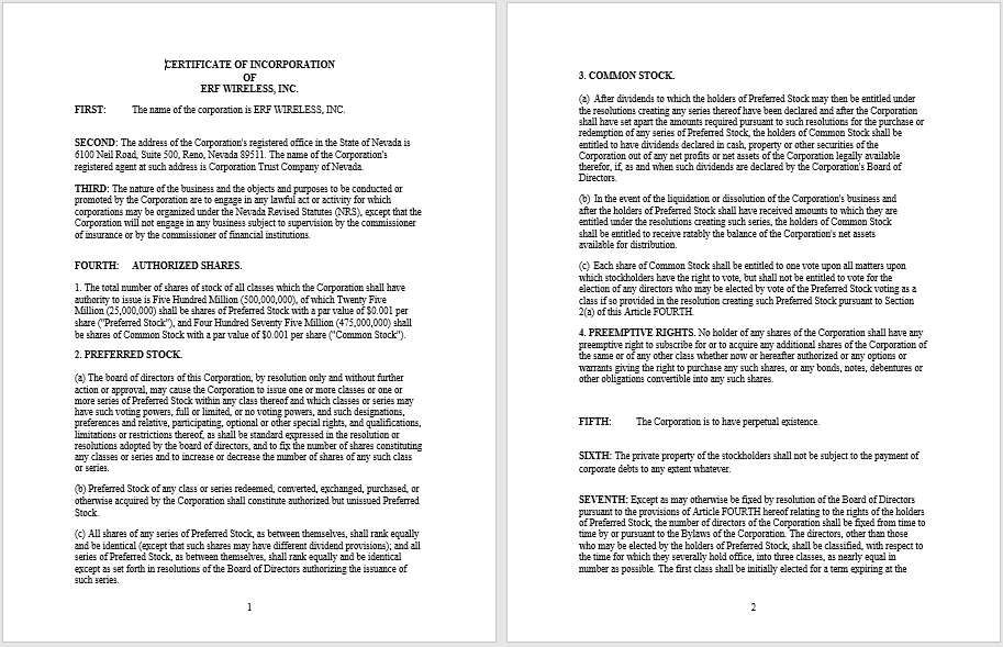 articles of incorporation template 02