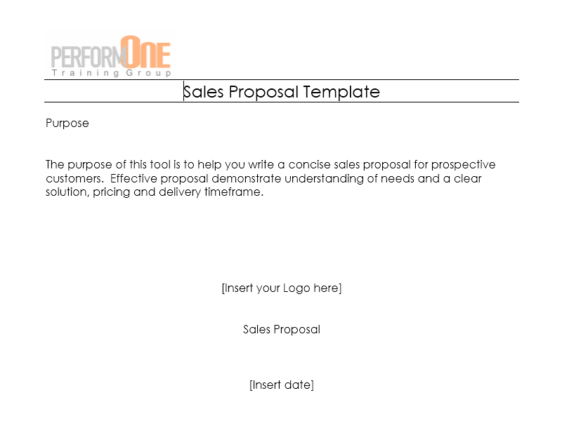 Business Proposal Template 07