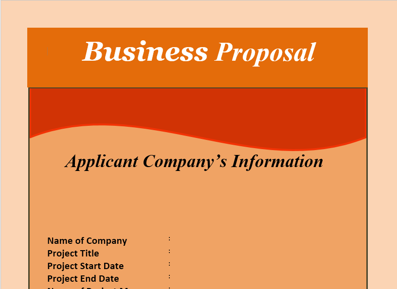 Business Proposal Template 14