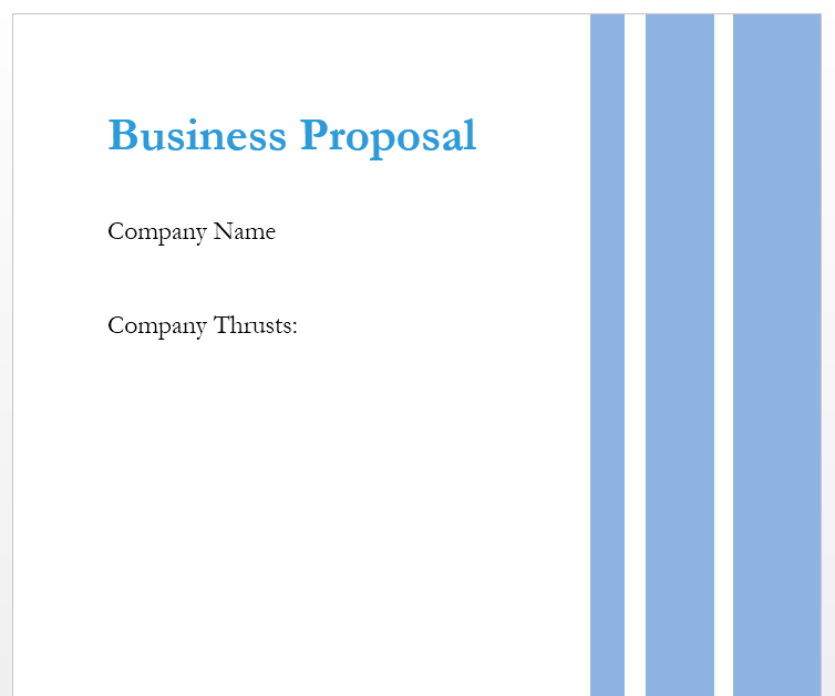 Business Proposal Template 16