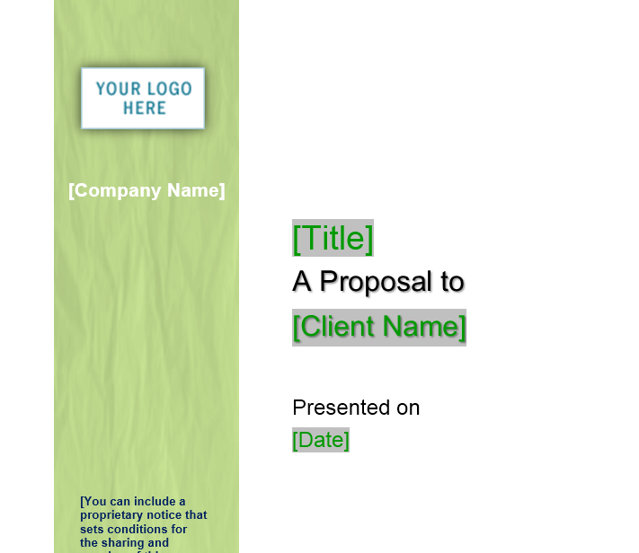 Business Proposal Template 20
