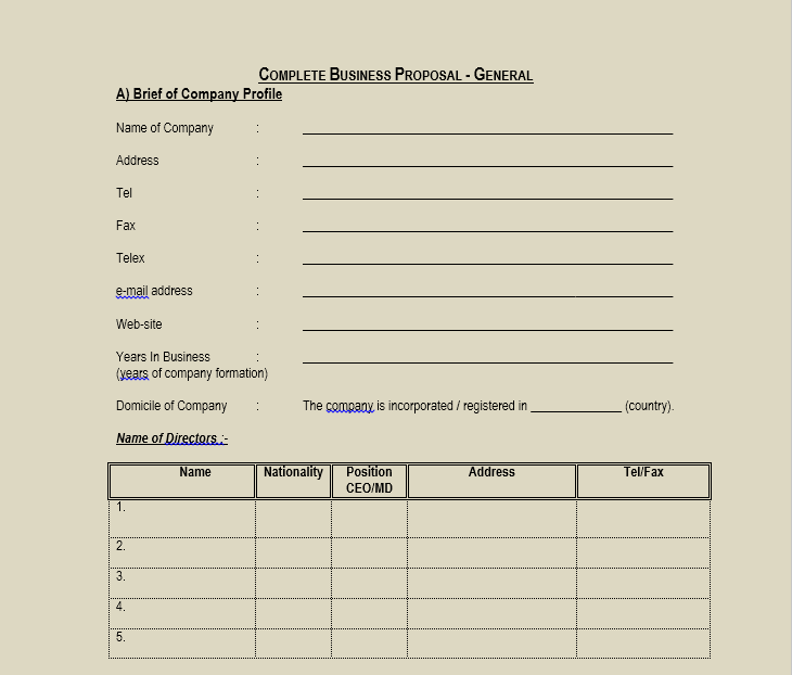 Business Proposal Template 21