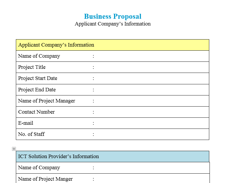 Business Proposal Template 22