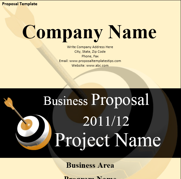 Business Proposal Template 29