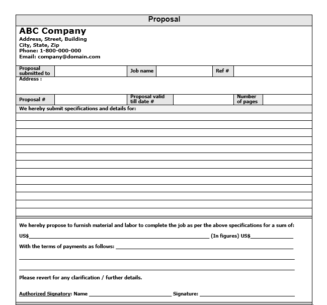 Business Proposal Template 30