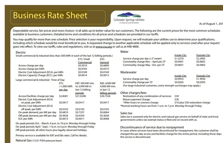 Wholesale rate sheet template 02