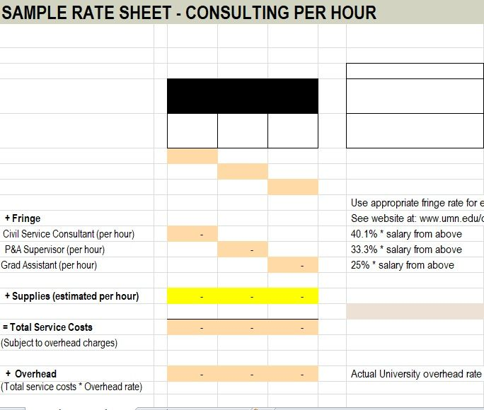 Wholesale rate sheet template 04