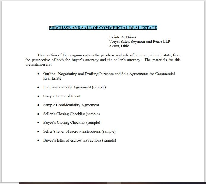 Property Contract Template 01