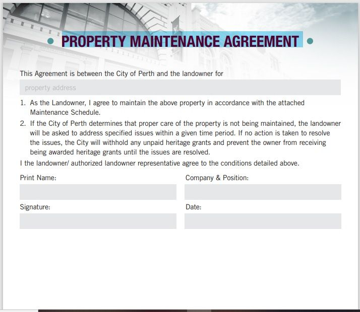 Property Contract Template 15