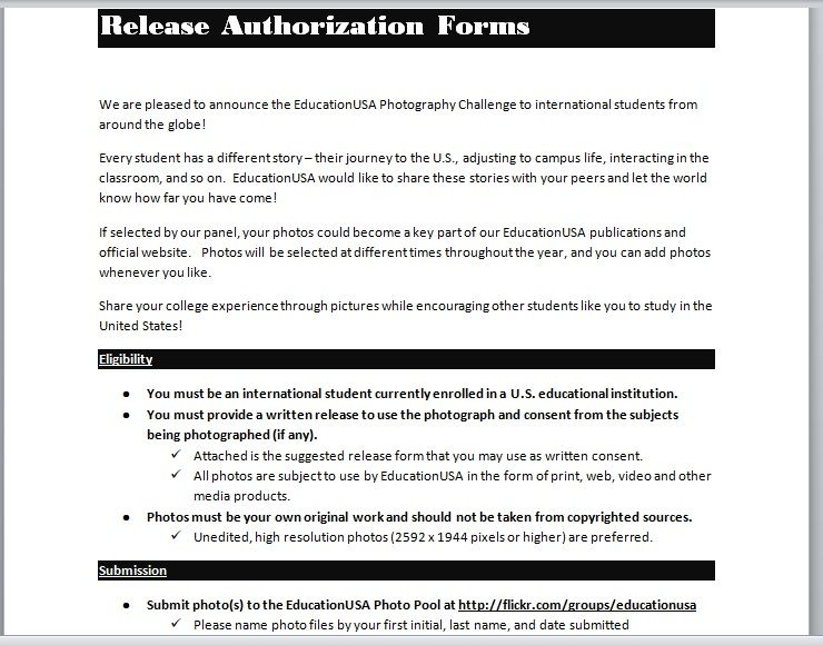 Release Authorization Form 11