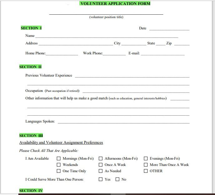 Volunteer Registration Form 02
