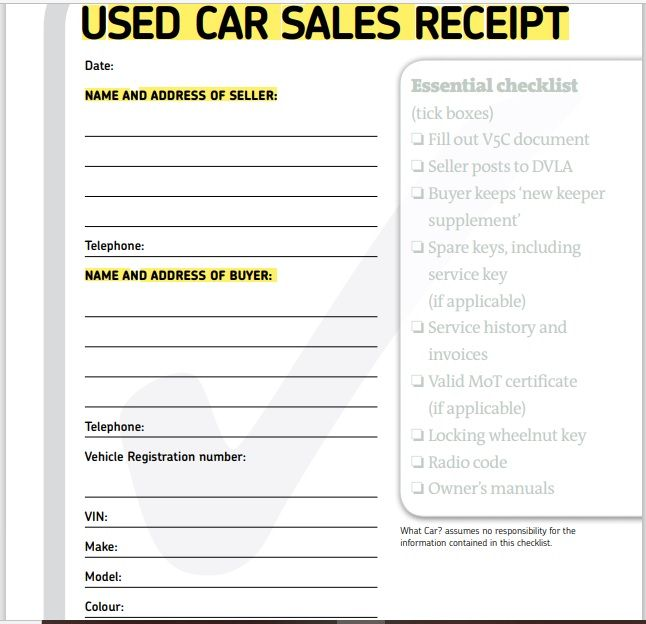 vehicle invoice template 12
