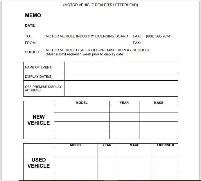 vehicle invoice template 14