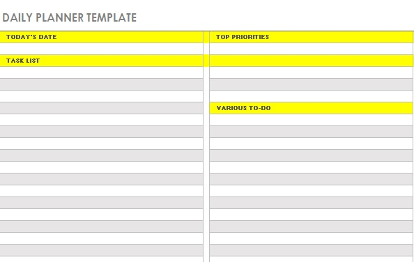 Daily Activity Log Template 06