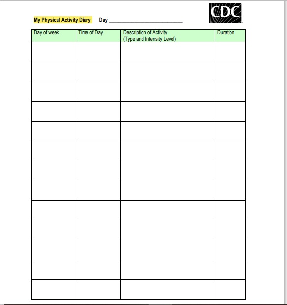 Daily Activity Log Template 15