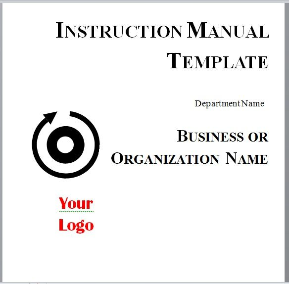 Instruction Manual Template 12