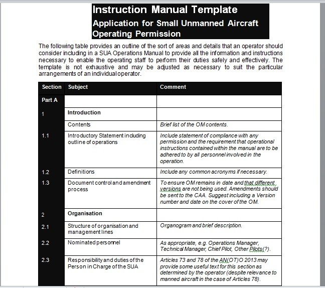 Instruction Manual Template 15