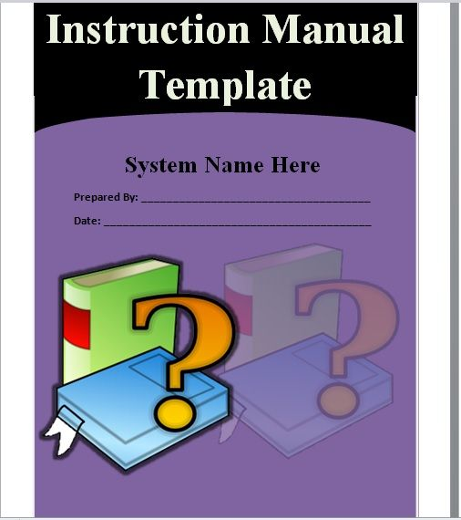 Instruction Manual Template 19