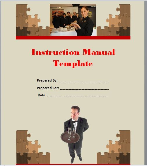 Instruction Manual Template 20