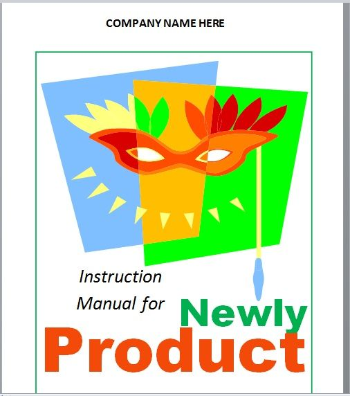 Instruction Manual Template 23