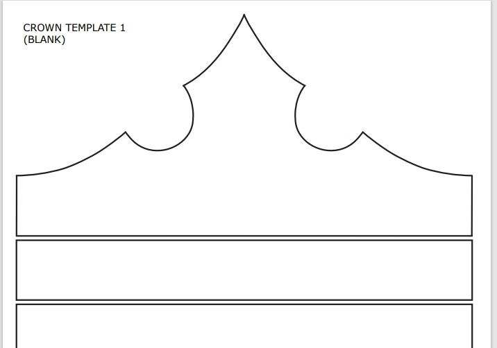 Paper Crown Template 01