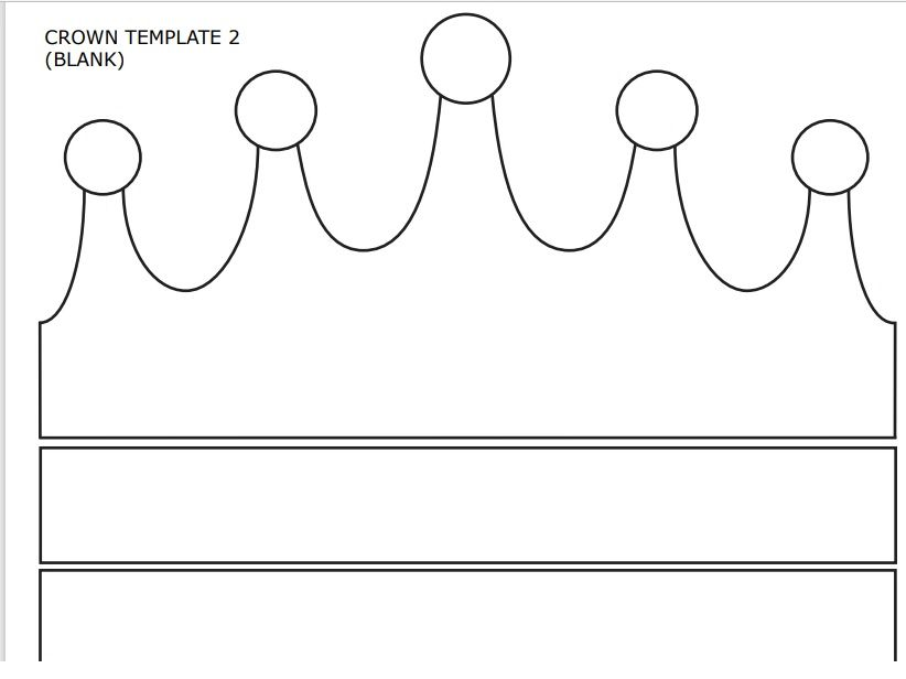 Paper Crown Template 02