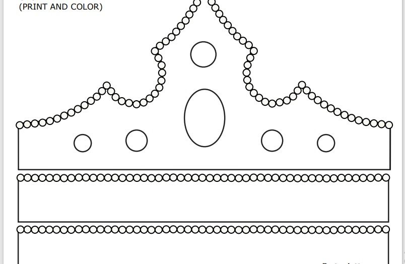 Paper Crown Template 04