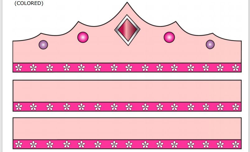 Paper Crown Template 09