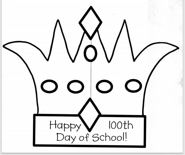 Paper Crown Template 14