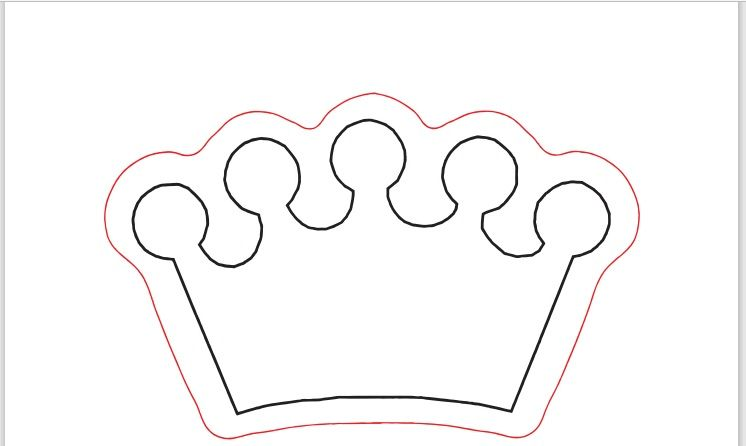Paper Crown Template 18