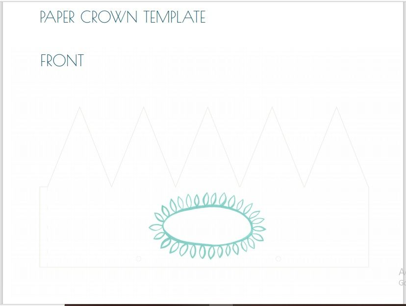Paper Crown Template 19