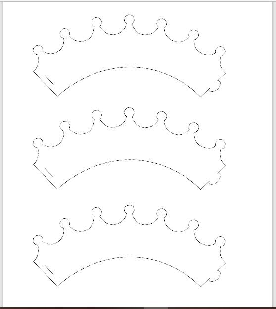 Paper Crown Template 22
