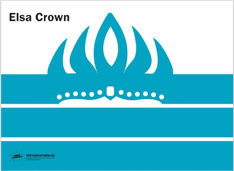 Paper Crown Template 23