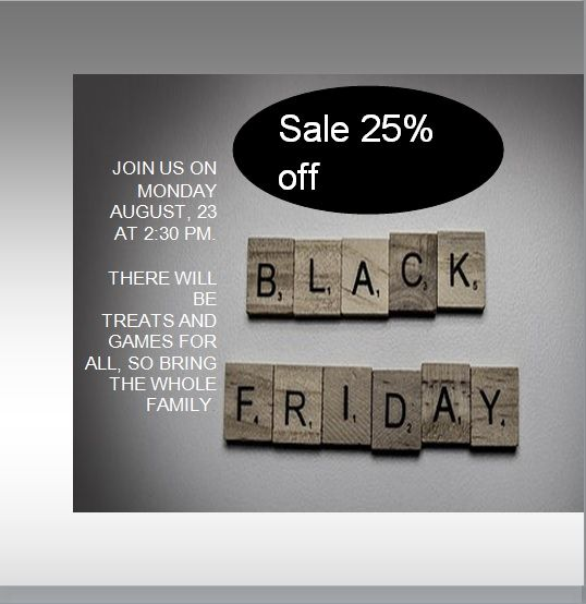 black friday sales flyer template 07