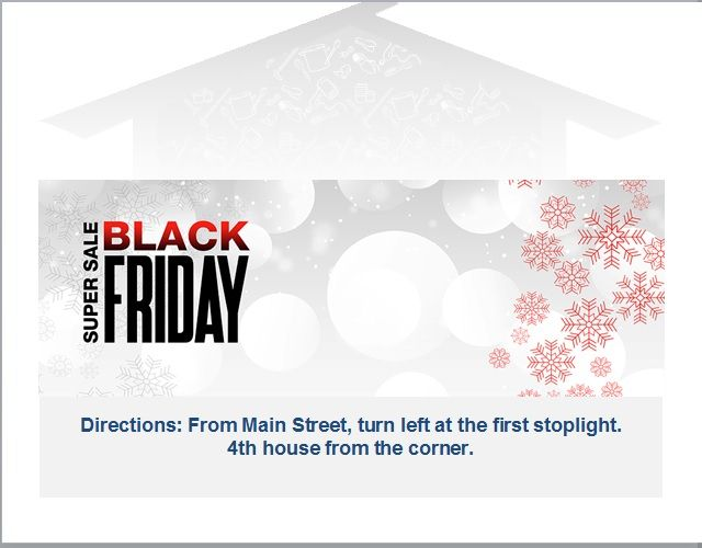 black friday sales flyer template 08